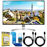 LG (32UD99-W) 32' Class 4K UHD IPS LED Monitor with HDR10 w/Accessories Bundle...