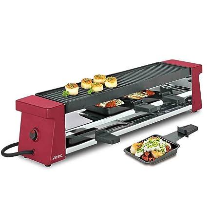 Unbekannt Spring 3039003001 Raclette 4 Compact con parrilla ...