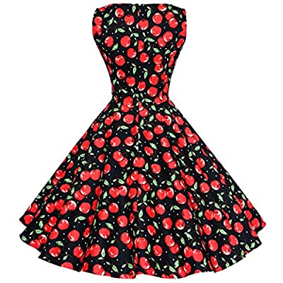 Maggie Tang 50s Vintage Pinup Cocktail Swing Rockabilly Ball Gown Party Dress