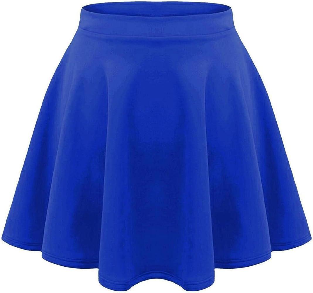 Fashion Lovers - Falda - para niña Negro Azul Real 11-12 Años ...