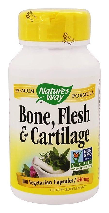 Natures Way - Magnesio del hueso, de la carne y 440 del cartílago. -
