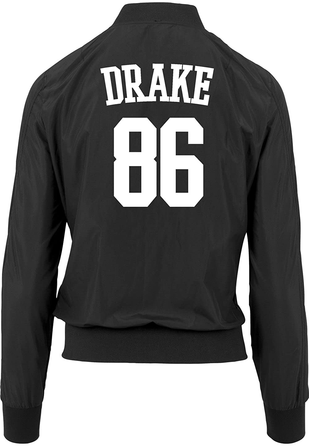 Freak Ropa 86 Bomber Drake Accesorios Girls Chaqueta Negro Y Amazon Certified es xz1qOYOT