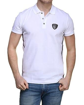 888ac9905f02 Emporio Armani EA7 - Polo en Coton pour Homme  Amazon.fr  Vêtements et  accessoires