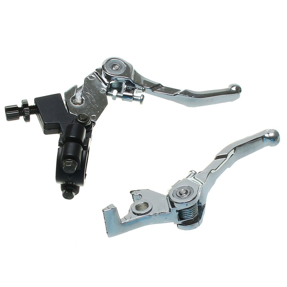 /Folding Snap Brake Grip Lever Clutch Alloy for 110/cc 125/cc 140/cc Pit Bike ILS/