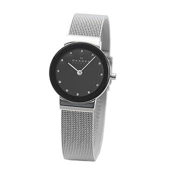 ece50c71b7 [スカーゲン] SKAGEN 腕時計 358SSSBD レディス腕時計 ラインストーンインデックス メッシュストラップ レディース [並行