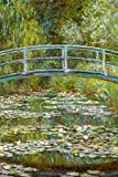Claude Monet The Water Lily Pond Japanese Bridge Poster 12x18