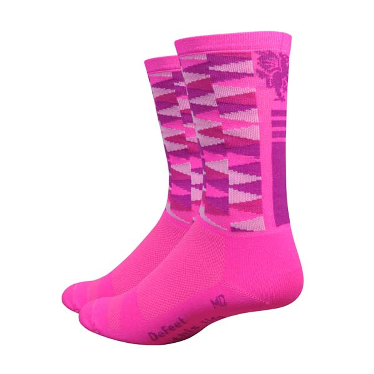DeFeet Aireator 6inch Mad Alchemy Candy Crush Cycling/Running Socks
