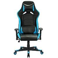 IntimaTe WM Heart Gaming Stuhl, Schreibtischstuhl Bürostuhl Computerstuhl Racing Stuhl Sportsitz Chefsessel Drehstuhl mit Verstellbare Armlehnen