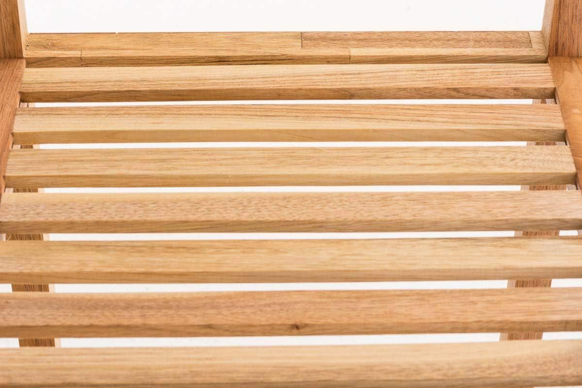 Scaffale da Cucina o Libreria Soggiorno Scaffale Colonna in Legno per Bagno Camera da Letto Cabina Armadio Colore:Noce Dimensione:M Scaffale Bagno Salvaspazio in Legno