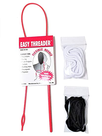 822b9392a3de Replacement Drawstrings for Pants Sweatpants Shorts Hoodies Scrubs Jackets  Swim Trunks Black   White 60 quot