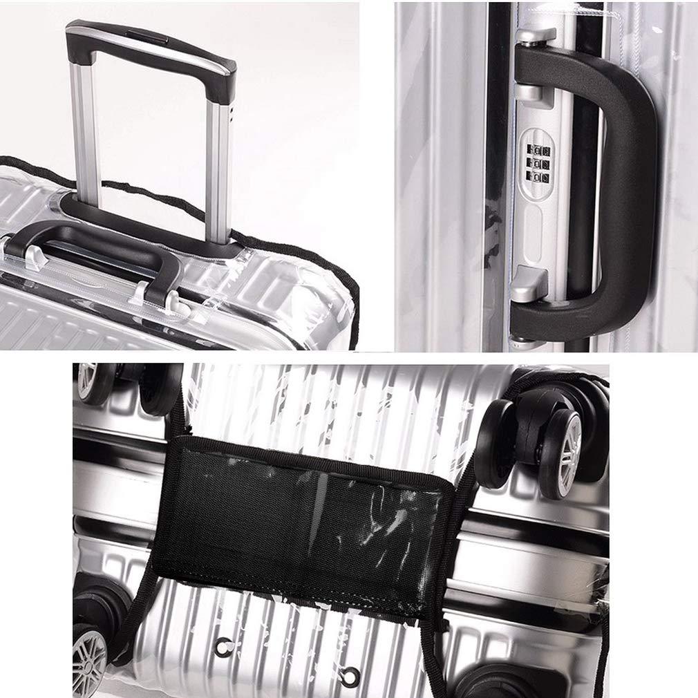 Chenqi PVC Claro 20 Pulgadas de Viaje Maleta de Viaje Cubierta Protector Impermeable a Prueba de Polvo
