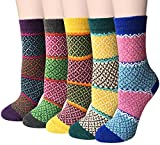 Pack of 5 Womens Winter Soft Warm Socks
