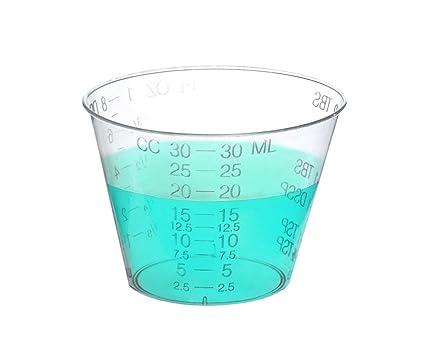 Una onza vasos para medicamentos medicina de alta grado aprobado por la FDA – tazas para