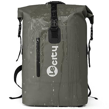 d11f2ee5d74c VILOCY Outdoor Waterproof Dry Bag Roll-Top Closure Backpack Hiking Daypacks  35L for Kayaking