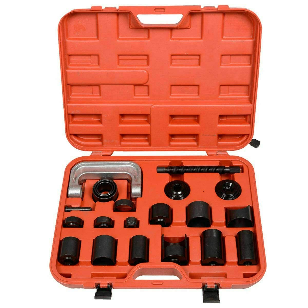 Red Durable Ball Joint Auto Repair Tool Service Remover Installing Master Adapter Car (21 pcs)