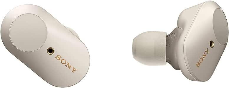 Sony New - WF1000XM3S - WF-1000XM3 Wireless Noise Cancelling Headphones (Platinum Silver)