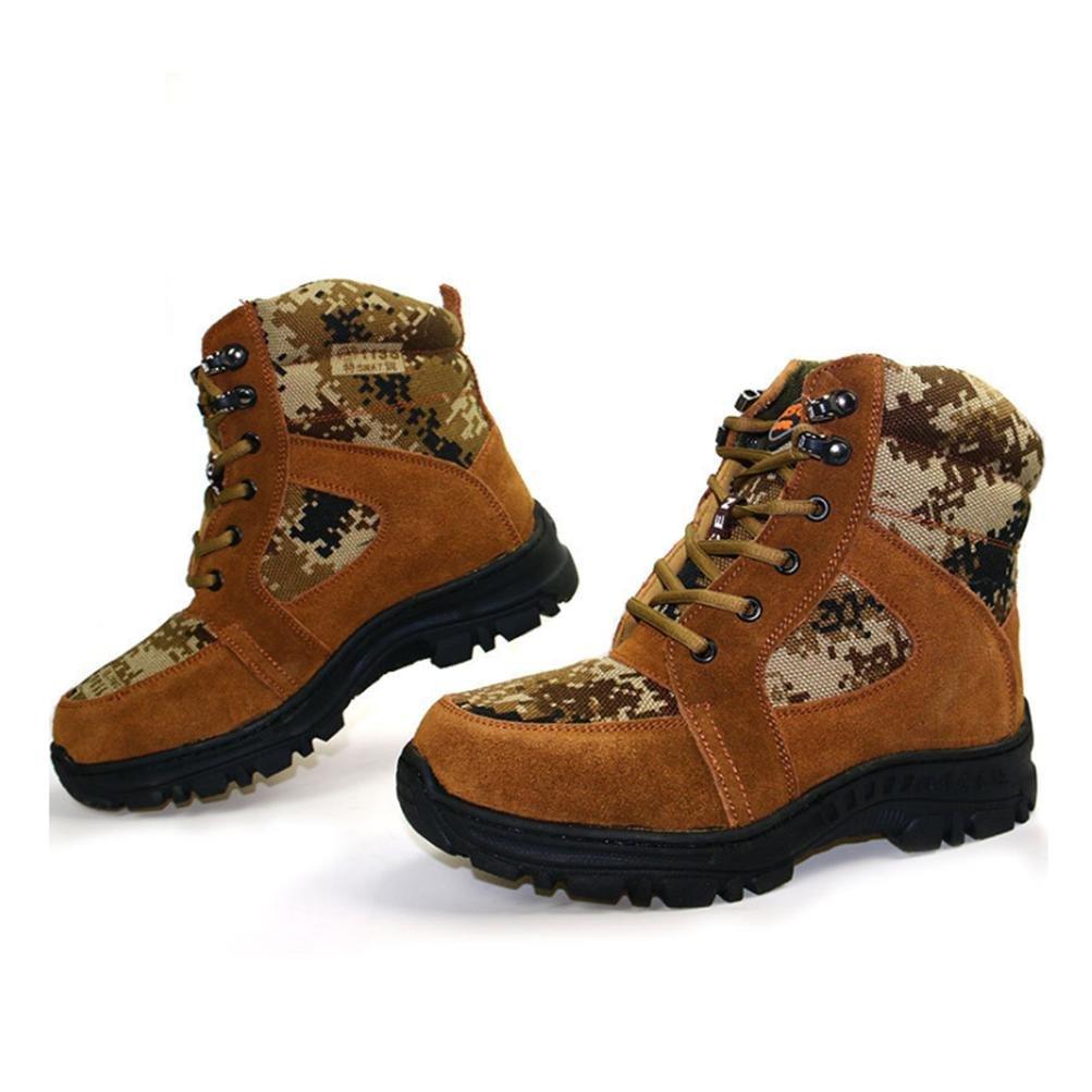 QPYC Männer Männer Männer halten warme rutschfeste Front Strap Schneeschuhe Baumwolle Schuhe Bergsteigen zu Fuß Tourismus in der Tube Stiefel e06c42
