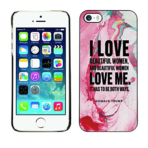 Print Motif Coque de protection Case Cover // Q04040520 Donald Trump renaissance // Apple iPhone 5 5S 5G