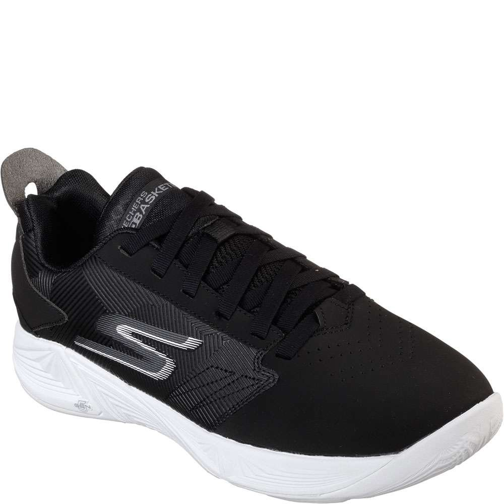 5678b8fd628d Galleon - Skechers Men s Torch - Lt Black White Ankle-High Basketball Shoe  11M