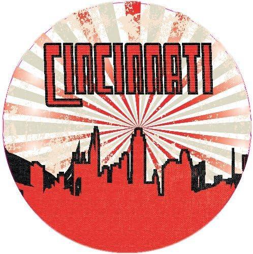 Boston USA Retro Greetings Label Car Bumper Sticker Decal 5/'/' x 4/'/'