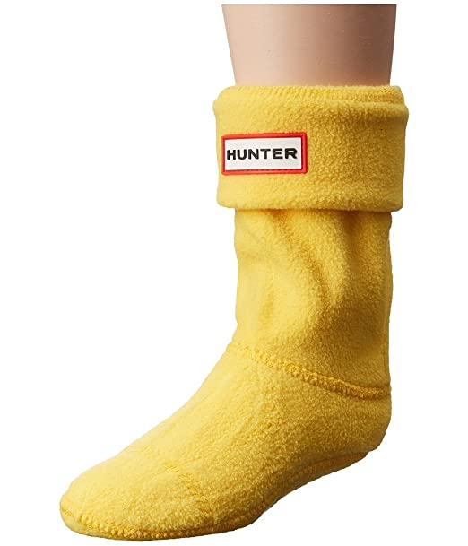 Hunter - Calcetines cortos - para niño amarillo Sowester Yellow X-Large