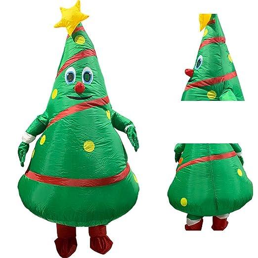 ANNIUP - Árbol de Navidad Hinchable Gigante, Traje de Cuerpo ...