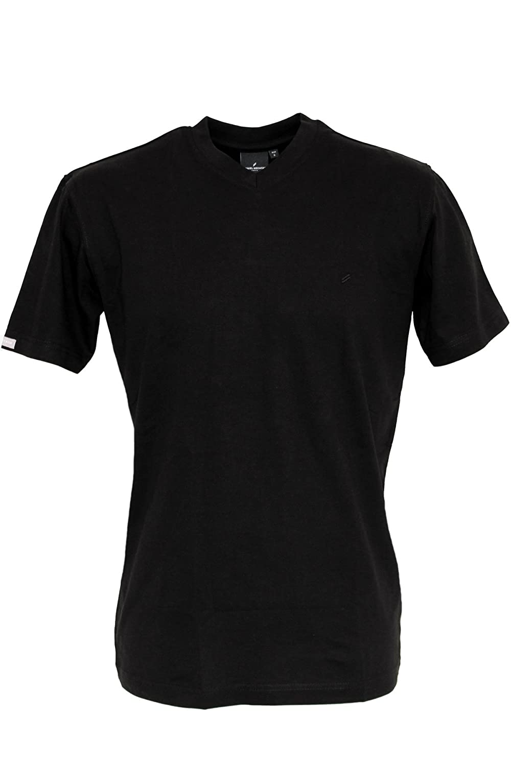 Daniel Hechter Basic V-Neck Shirt Double Pack-Black, White