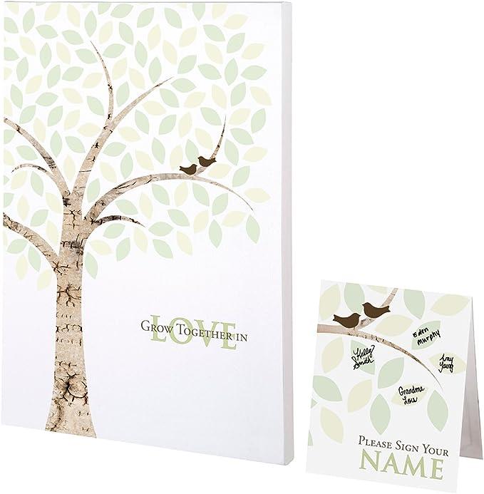 Lillian Rose - Lona para firmas de Invitados diseño de árbol Multicolor