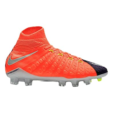reputable site cc738 f2a59 Nike Hypervenom Phantom III DF FG, Chaussures de Football Mixte Enfant   Amazon.fr  Sports et Loisirs