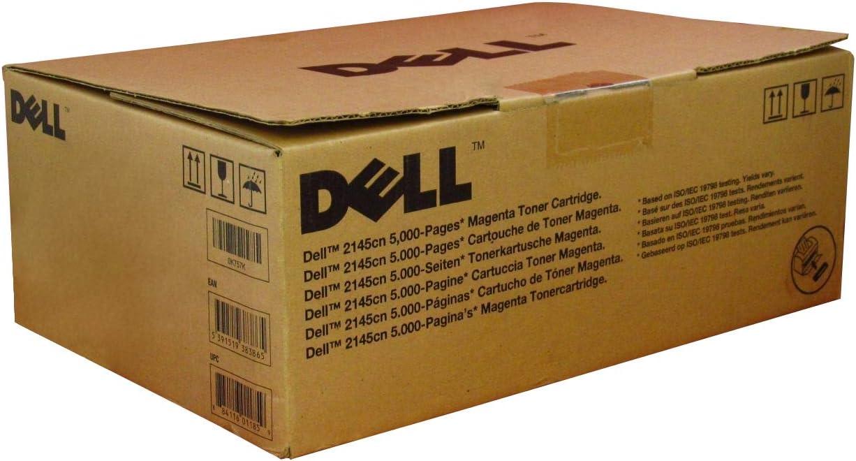 Dell K757K Magenta Toner Cartridge 2145cn Color Laser Printer
