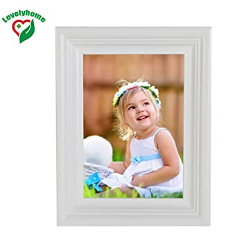 Amazon White Picture Frame Matted To Fit Pictures A4 Size