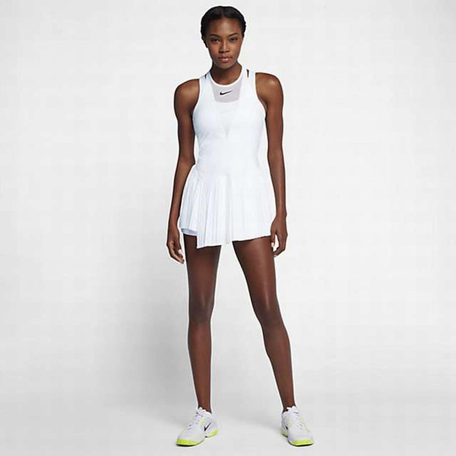 Nike Court Power Maria Sharapova Tennis Dress (S, White/Black), Dresses -  Amazon Canada