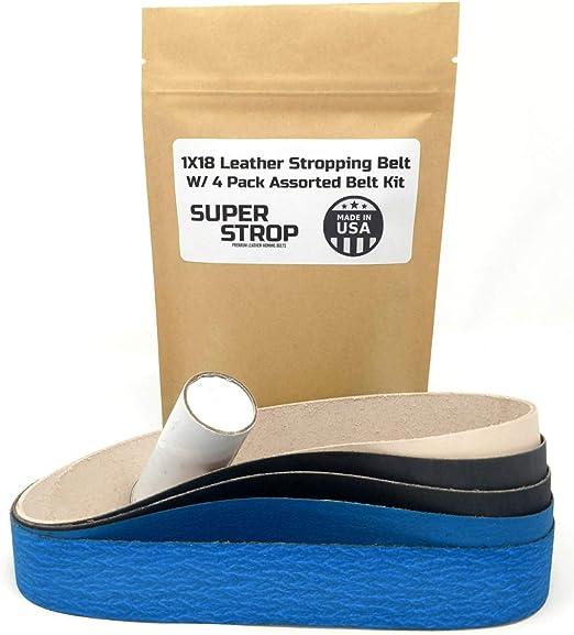 non leather belt Stropping Belt Kit for Work Sharp WSKTS