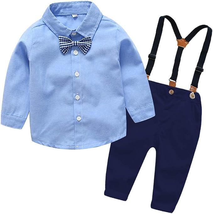 Amazon.com: xirubaby - Conjunto de ropa para niño (2 piezas ...