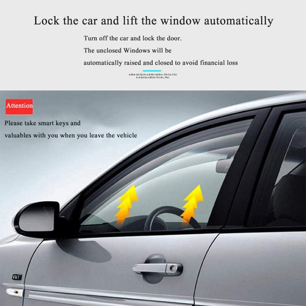 Lijuan Qin Keyless Alarm System 12V Car SUV Keyless Entry Engine Start SUV m Push Button Remote Starter Stop Auto Car Accessories Tool
