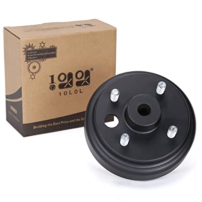 10L0L 19186G1P Brake Drum/Hub Assembly (Electric) for EZGO: Sports & Outdoors