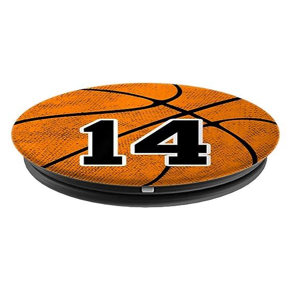 Amazon.com: Camiseta con número 14 de baloncesto para 14 ...