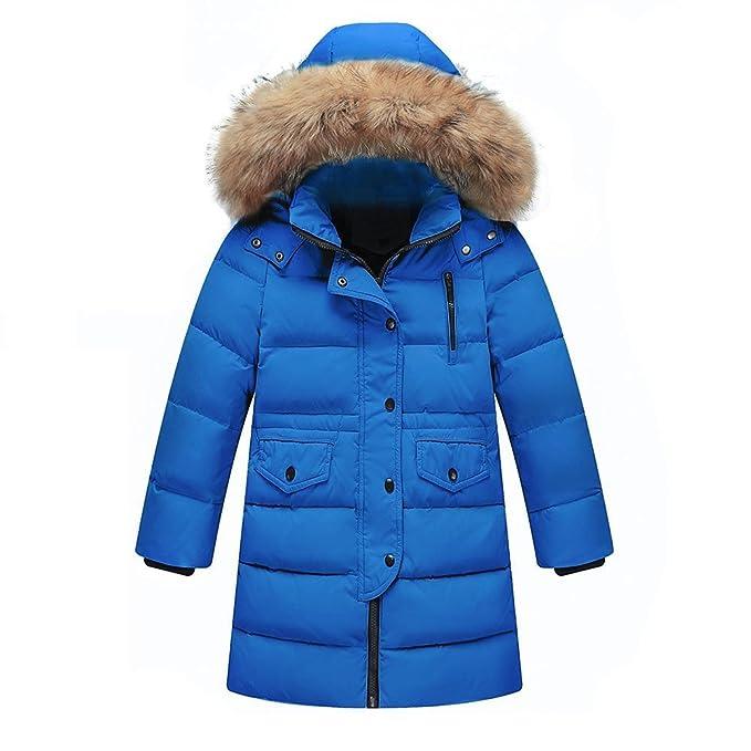 Wulide Piumino Bambino Invernale Giacca Bambina Piumino Cappuccio Cappotto  Ragazzi Snowsuit per Bambini Vento Impermeabile  Amazon.it  Abbigliamento fbae557a9d72