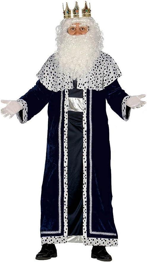 Guirca- Disfraz Rey Mago Melchor para adulto, Color negro, talla L ...
