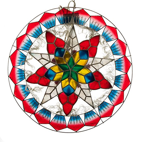 Gift Ko Handmade Ring/Starlite Parol Christmas Lantern 18 inch Colored