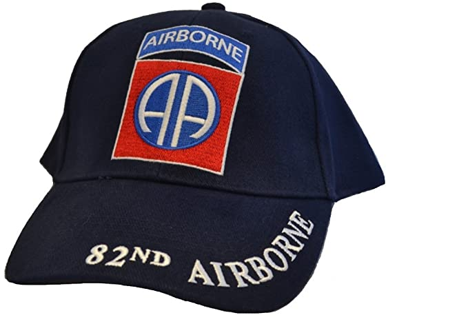 Eagle Emblems Mens 82nd Airborne Division Embroidered Ball Cap Adjustable  Blue 46d88eb6708
