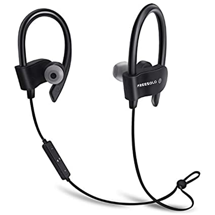 9c5a1eaa983 FREESOLO COOLBEATS Wireless Bluetooth Headphones with Mic, Latest V 5.0,  Noise Cancellation Sweat-