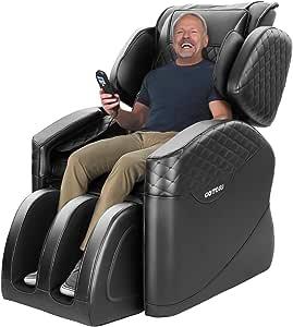 KASPURO Massage Chair, Massage Chairs Full Body and Recliner, Zero Gravity Massage Chair, Shiatsu Massage Chair Recliner with Waist Heating, Hip Vibration, Full Body Airbags and Foot Roller