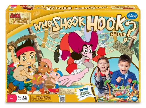Jake and The Never Land Pirates Who Shook Hook Adventure Board Game image
