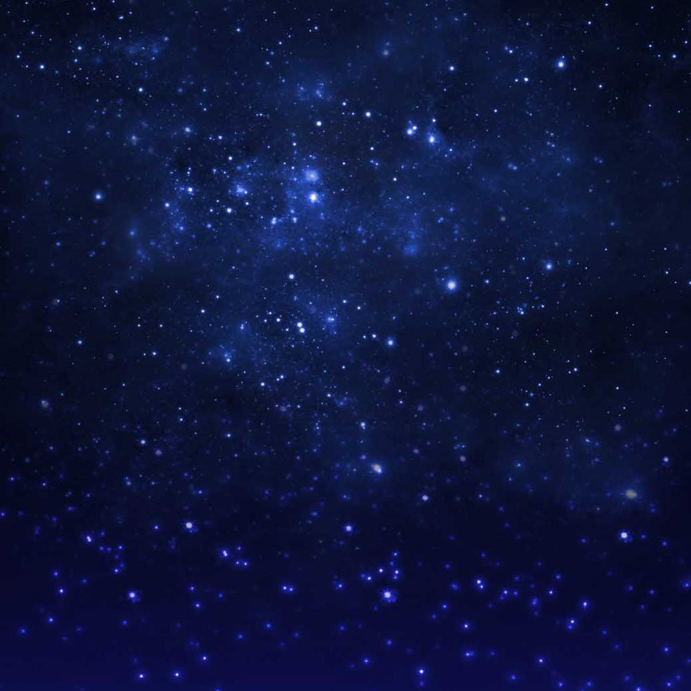 GladsBuy Starry Sky 10' x 10' Computer Printed Photography Backdrop Universe Star Theme Background S-1805