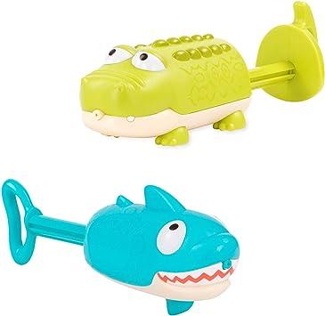 B. Toys by Battat - Splishin Splash Animal Water Squirts Duo Pack ...