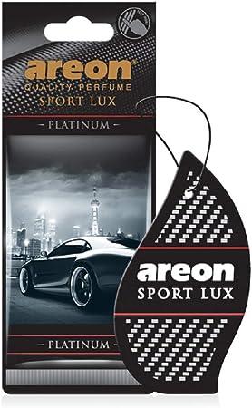 Areon Sport Lux Lufterfrischer Für Auto Und Zuhause Aus Karton Platin 12 Stück Auto