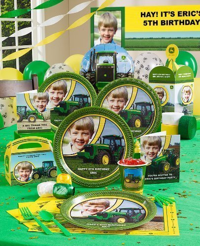 Birthday Express John Deere Personalized Party Theme by Ineardi