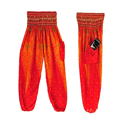 Pantalones Deportivas Niño Mujer Yoga Leggins Cintura Boho ...