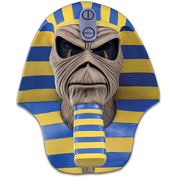 Iron Maiden Number of the Beast Devil Adult Latex Costume Mask